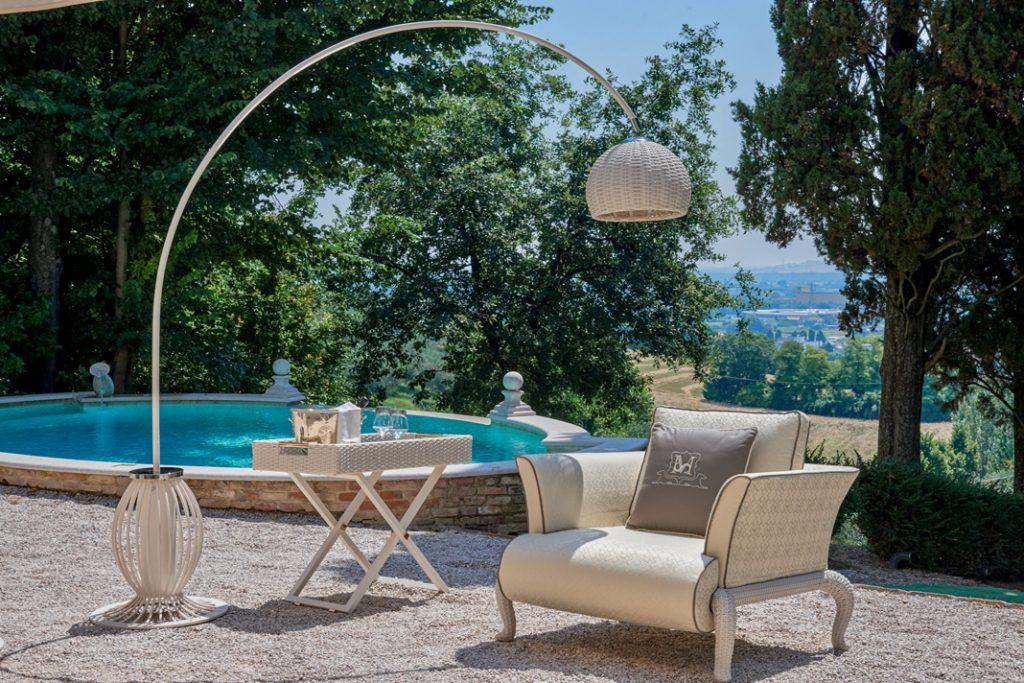 Luksusowe meble do ogrodu: kolekcja Canopo włoskiej marki Samuele Mazza