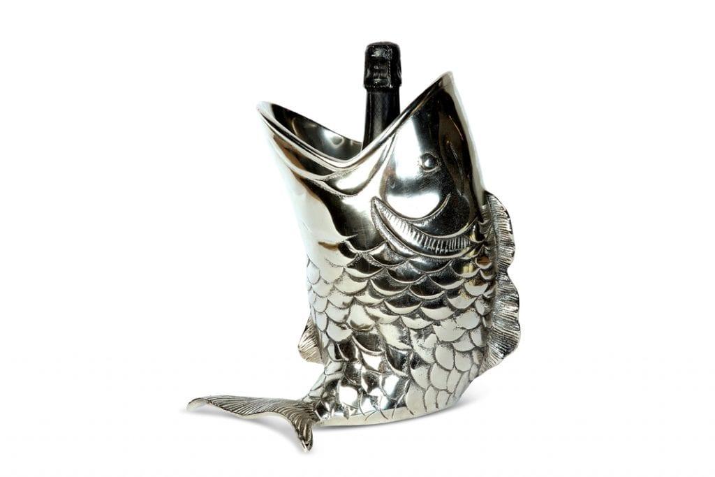 Wzornictwo trendy - schładzacz do wina w kształcie ryby