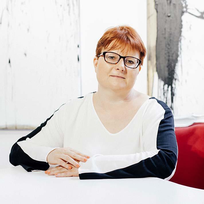 Agnieszka Gniotek właścicielka Galeria Xanadu