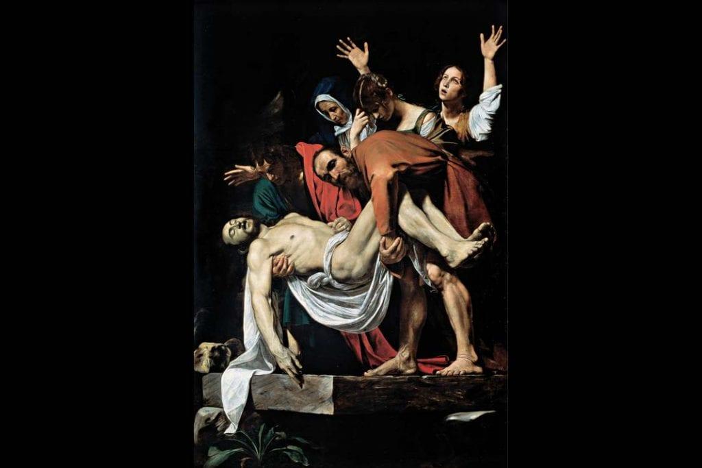 Złożenie do grobu, Caravaggio