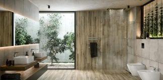 Cersanit kolekcja Avonwood light z płytkami imitującymi deski z litego drewna featured photo