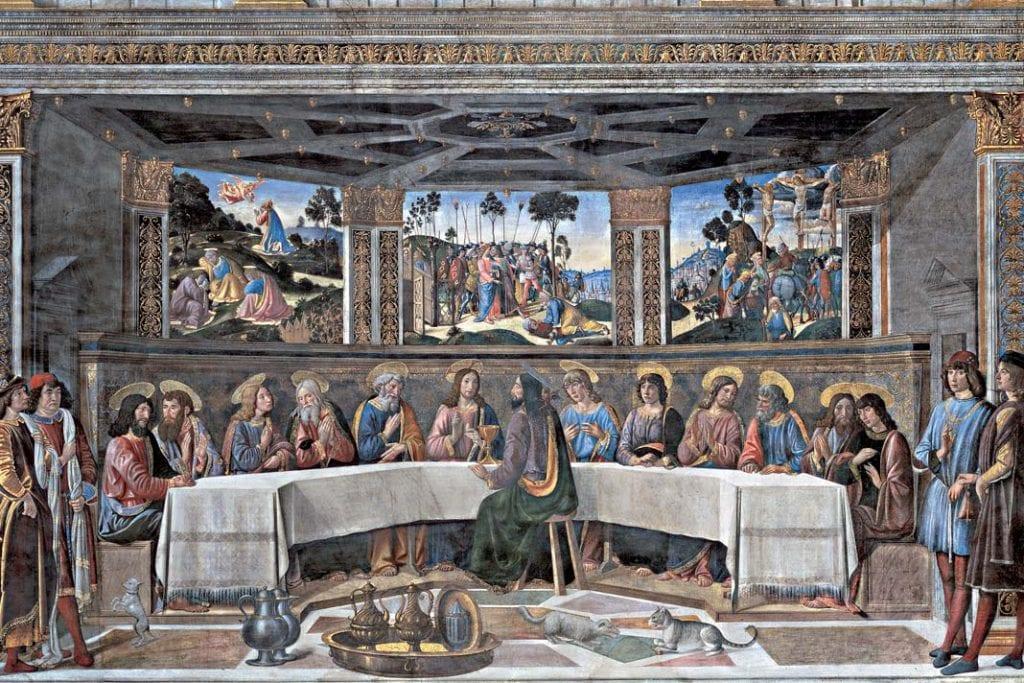 Sceny zżycia Chrystusa: Ostatnia wieczerza