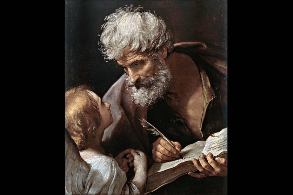 obraz Guido Reni, Św. Mateusz ianioł