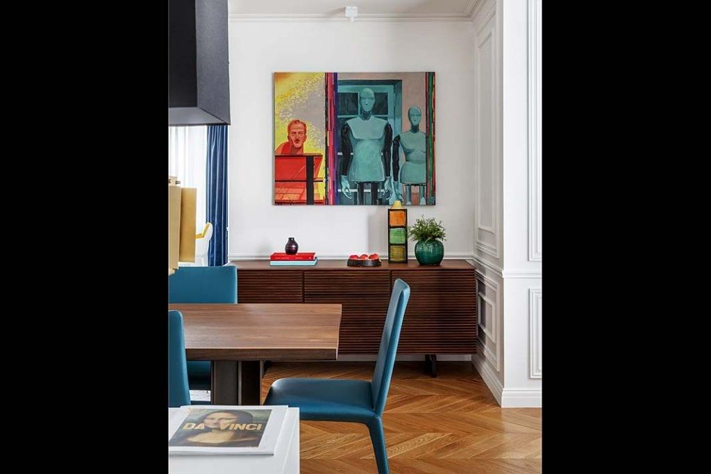Nowoczesny apartament w Moskwie - jadalnia 2