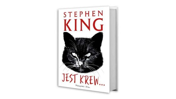 okładka książki Stephena Kinga, Jest krew...