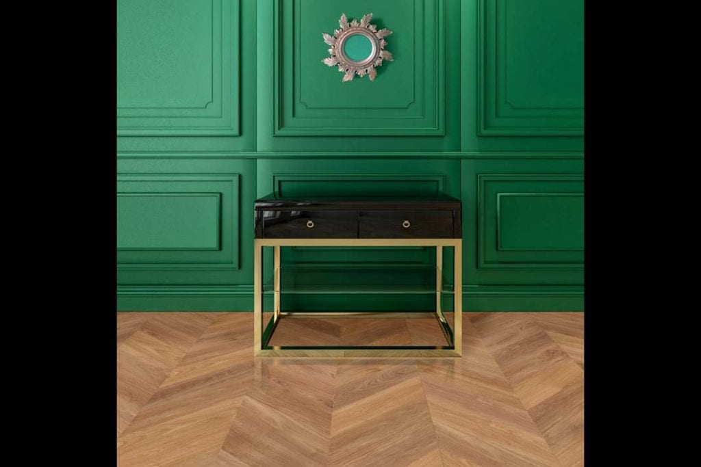 Elegancką podłogę Amber z kolekcji Nature&Design wyróżnia ciepły, bursztynowy odcień.