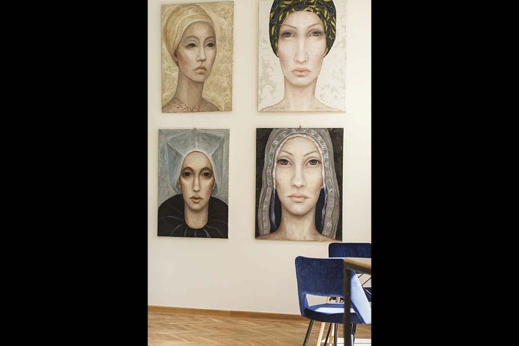 Najnowsze portrety Izy Staręgi zapowiadające wystawę artystki, która odbędzie się wXanadu jesienią tego roku.
