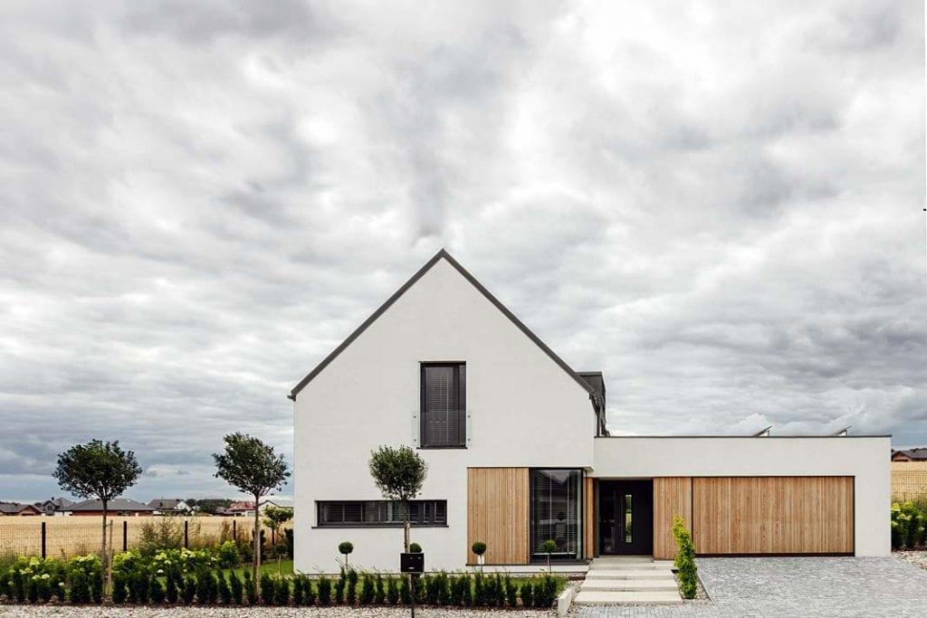 Dom blisko natury - przestronny, w stylu skandynawskim