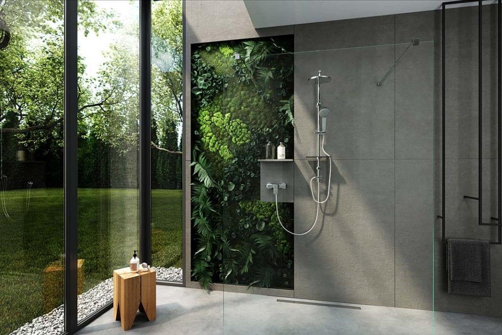 Łazienka blisko natury. Dzięki systemowi Ferro Air-in napowietrzającemu strumień wody, możesz zmniejszyć jej zużycie nawet o50%.