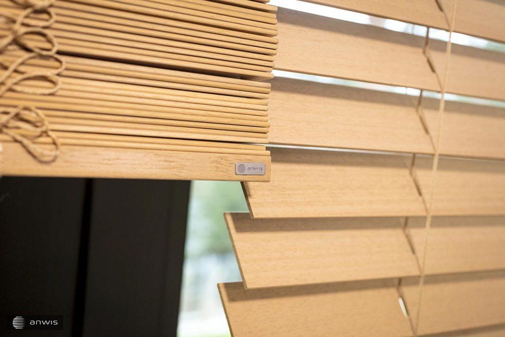 żaluzje drewniany firmy ANWIS