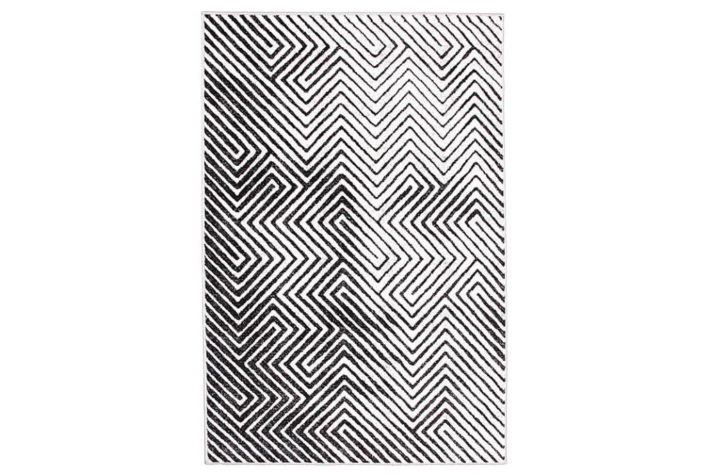 złudzenie optyczne na dywanie z kolekcji Pastel