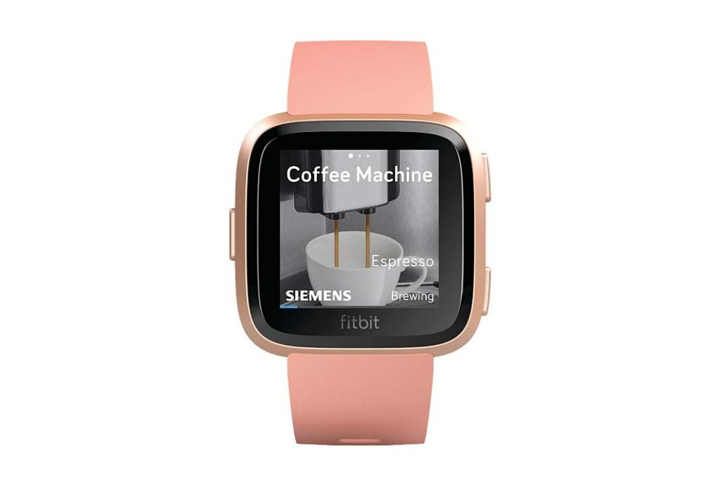 smartwatch fitbit home connect
