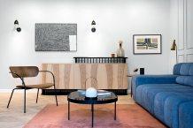 wnętrze salonu według projektu Jana Sikory