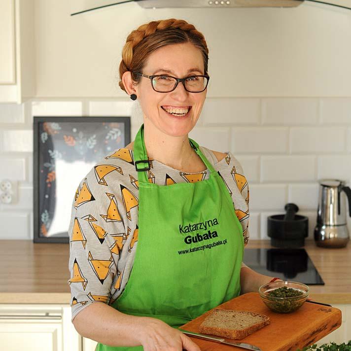 Katarzyna Gubała autorka książek kulinarnych