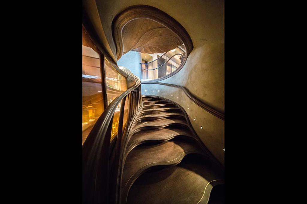 StairStalk Atmos fot Alex Haw realizacja schodów Trąbczyński