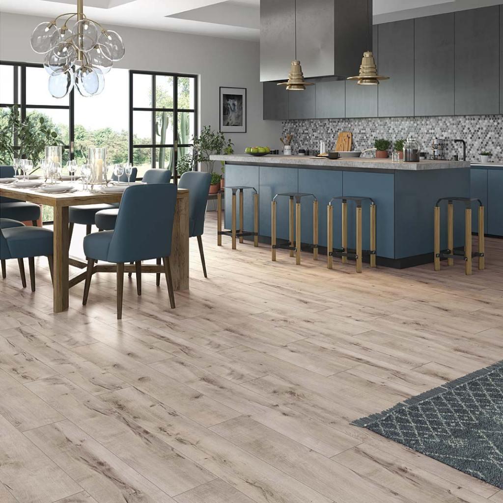 Wodoodporne laminowane panele podłogowe RuckZuck Trend 4V Dargin Oak