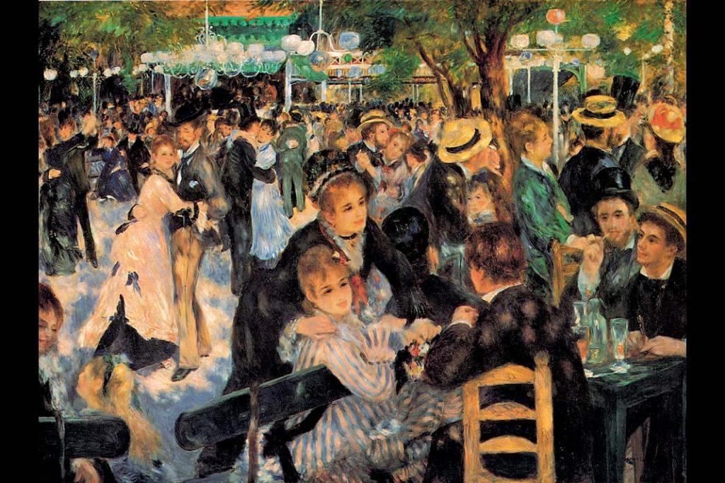 Musée d'Orsay. Auguste Renoir, Bal wMoulin de la Galette