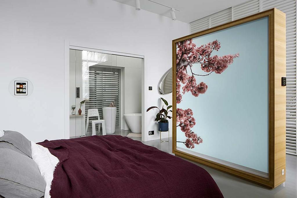 Automatyka budynkowa ABB w sypialni - jeden ze sposobów na komfortowy sen