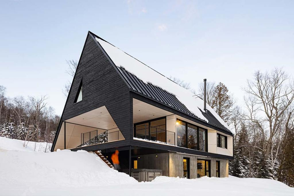 Całoroczny dom letniskowy dla pasjonatów sportów zimowych