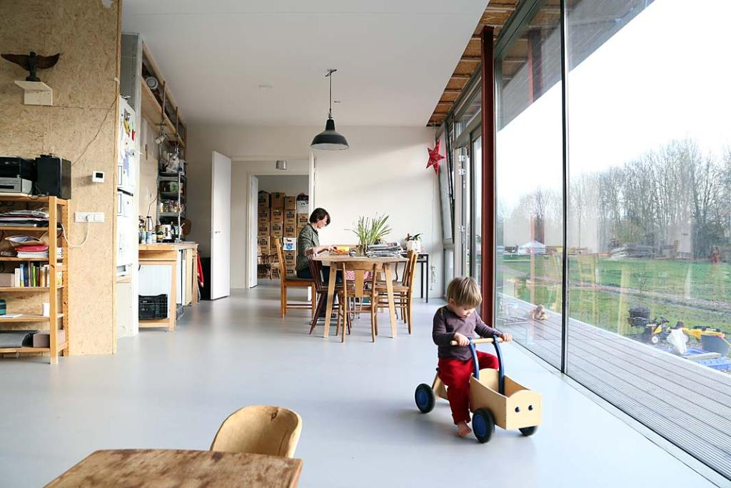 Dom szeregowy Oosterwold Co‑living Complex - wnętrze