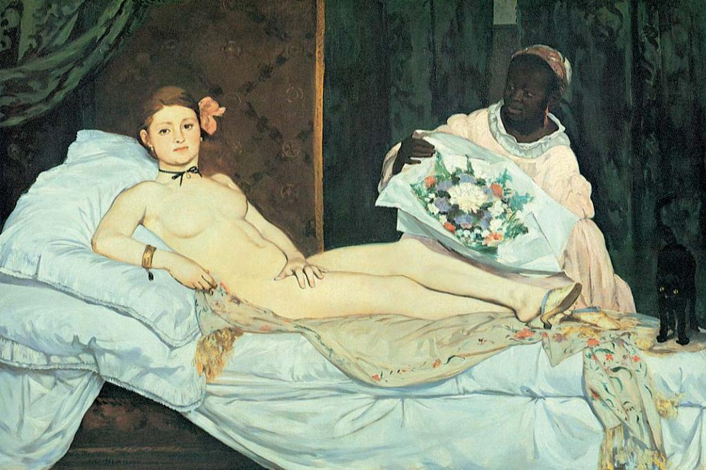 Musée d'Orsay. Edouard Manet, Olimpia