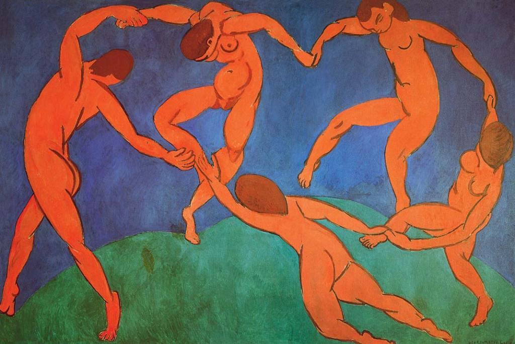 Ermitaż. Henri Matisse, Taniec, olej napłótnie