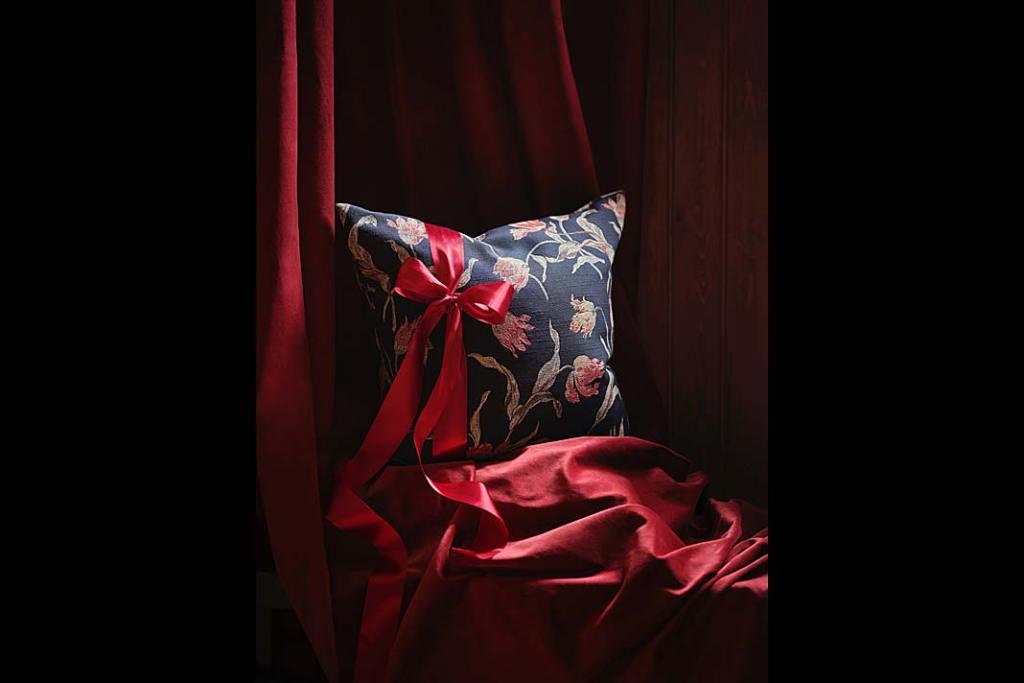 Komfortowy sen Komplet pościeli ze wzorem Ålandsrot od IKEA