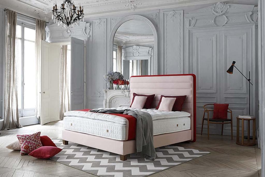 Komfortowy sen Luksusowe łóżka i materace Treca