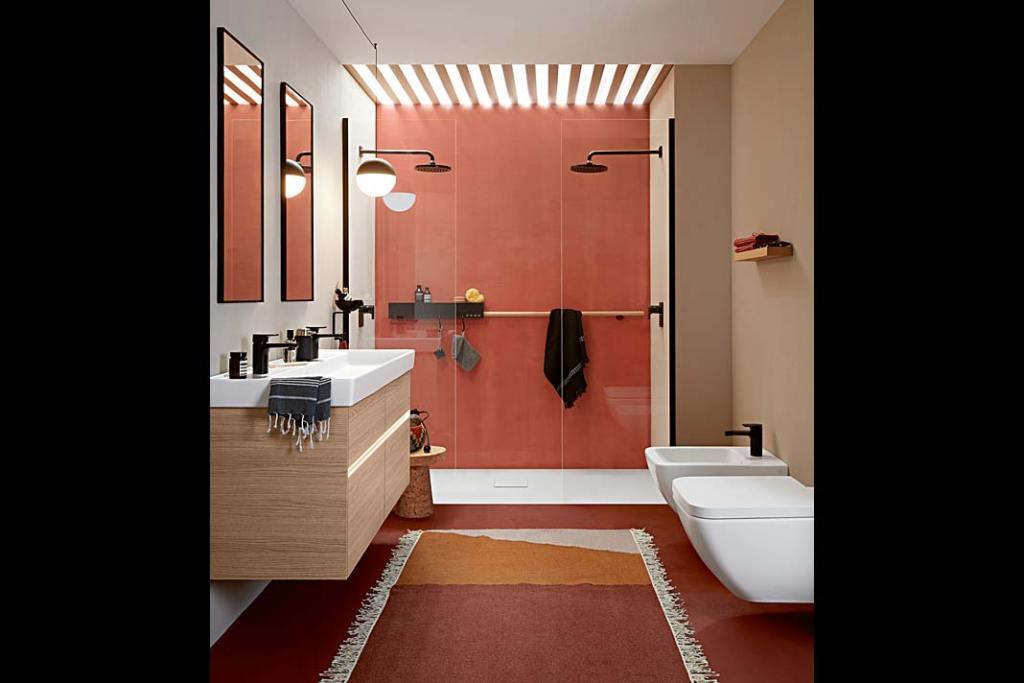 Łazienka zwyposażeniem zserii Collaro firmy Villeroy&Boch