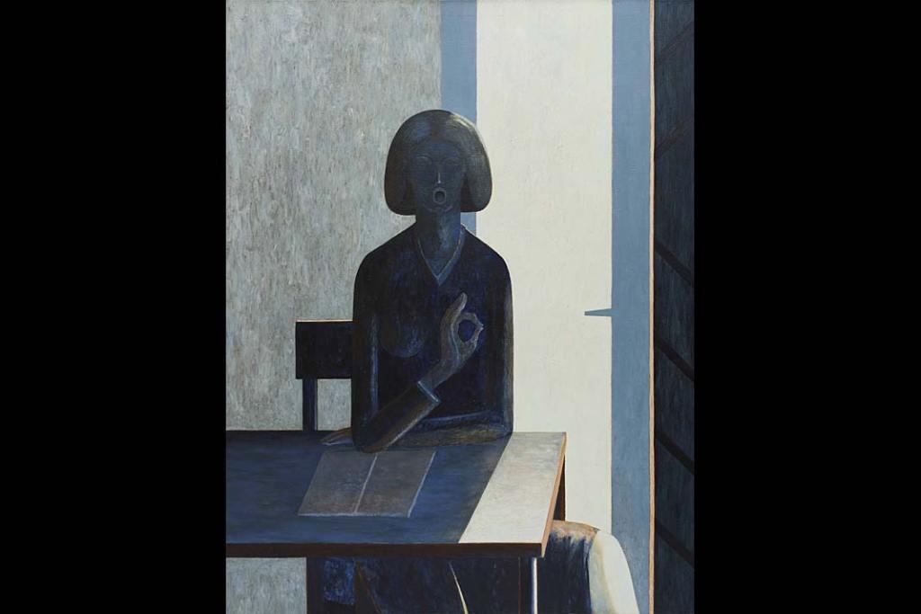 Rynek sztuki: Andrzej Tobis, Samogłoska, 2003