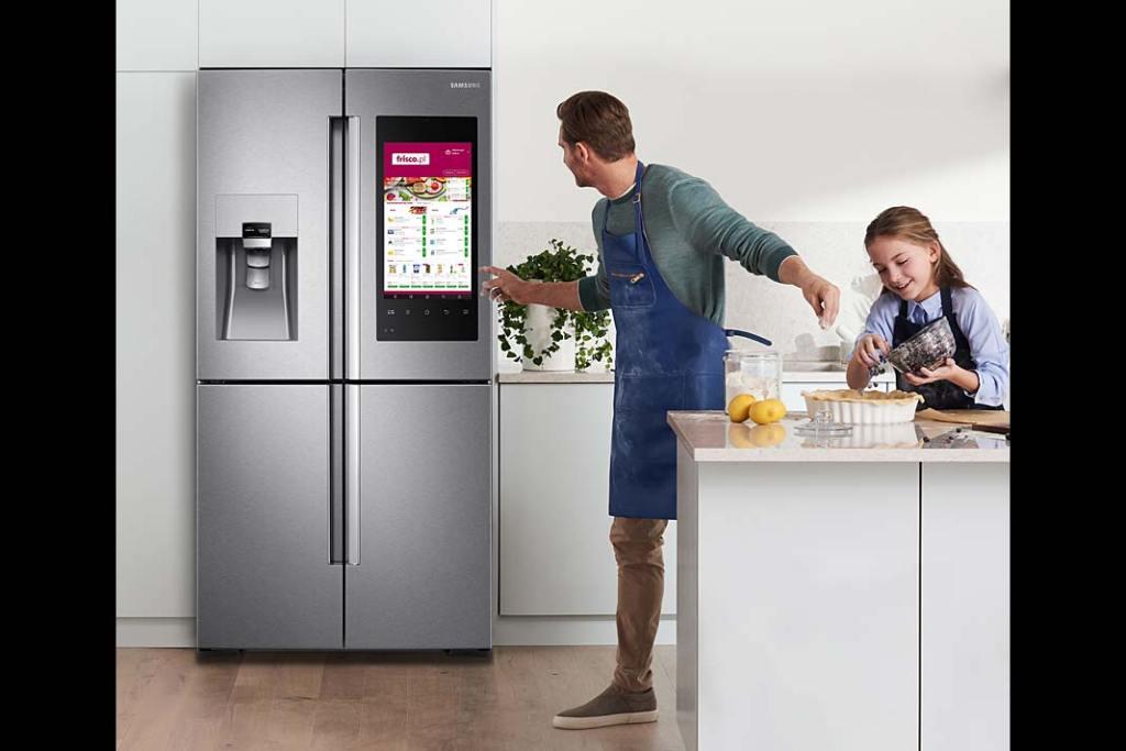 Twój smart dom. Multimedialna lodówka Family Hub Samsung