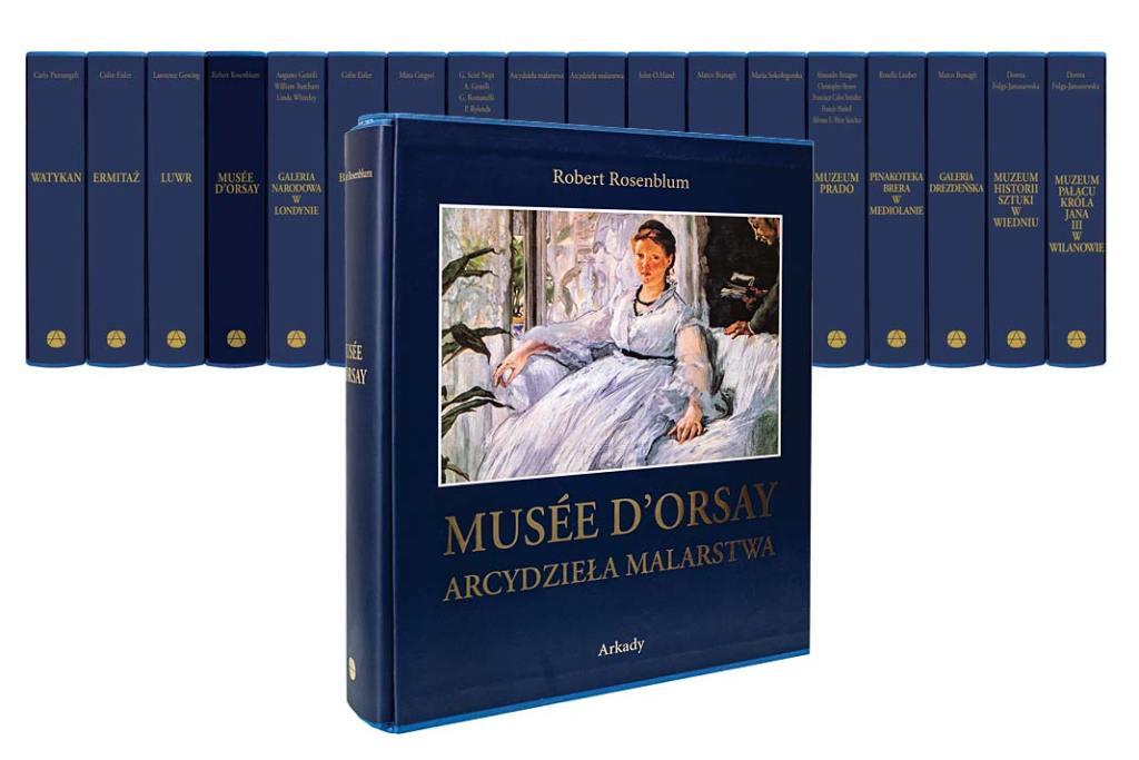 Musée dOrsay Arcydzieła malarstwa seria Wydawnictwa ARKADY