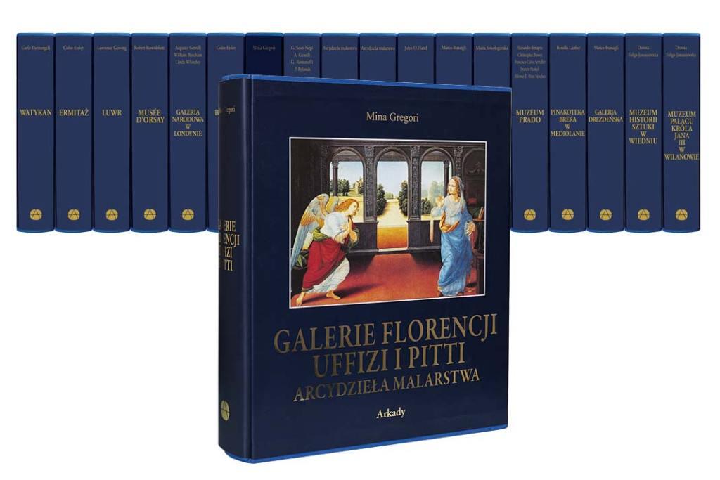 Muzea Florencji Arcydzieła malarstwa seria Wydawnictwa ARKADY