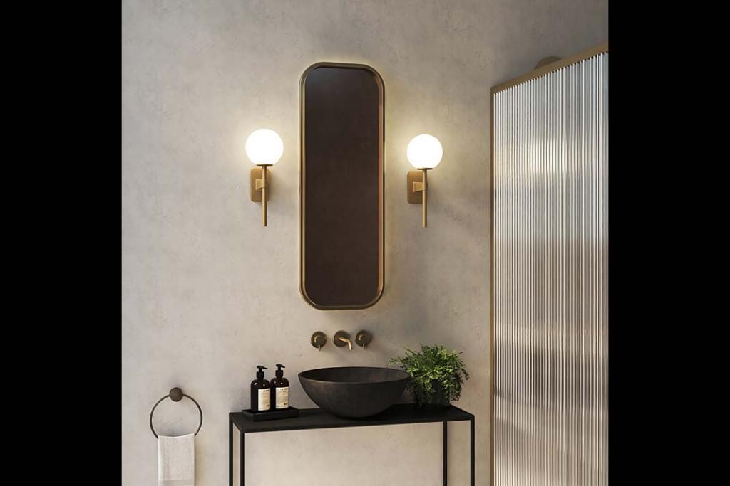 Oświetlenie łazienki, oprawa Tacoma od Astro Lighting