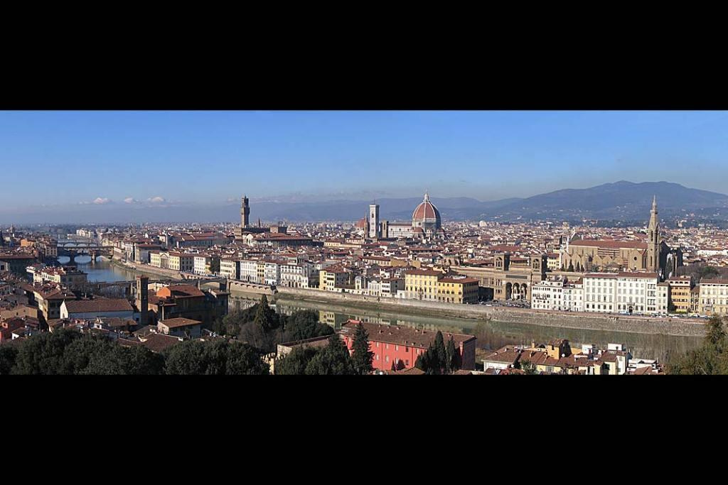 Panorama Florencji - muzea