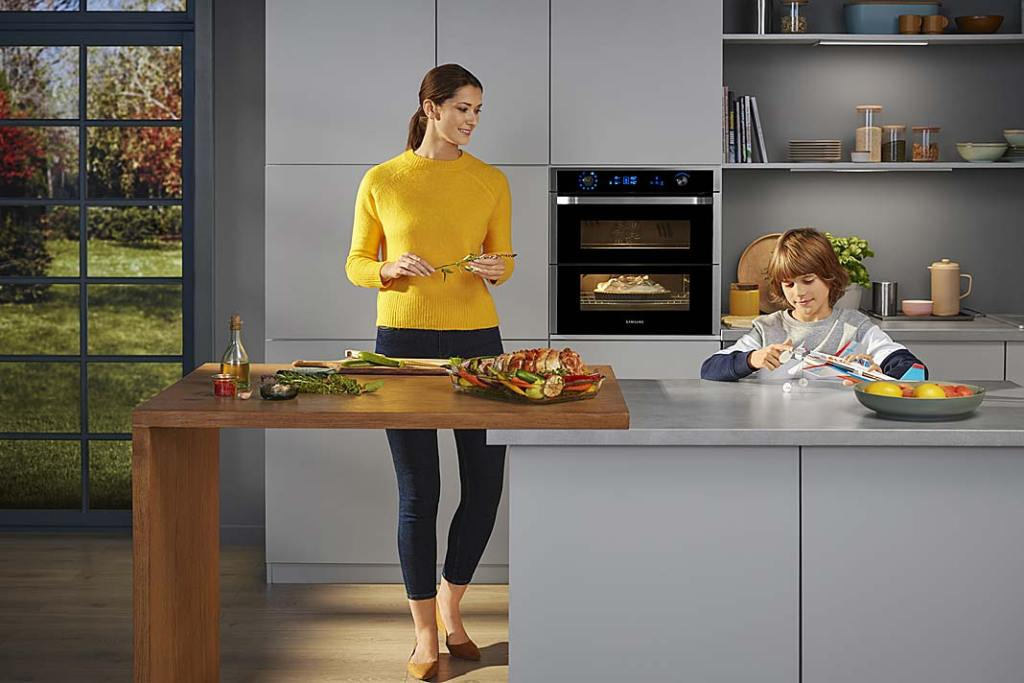 Smart AGD. Piekarnik Dual Cook Flex firmy Samsung