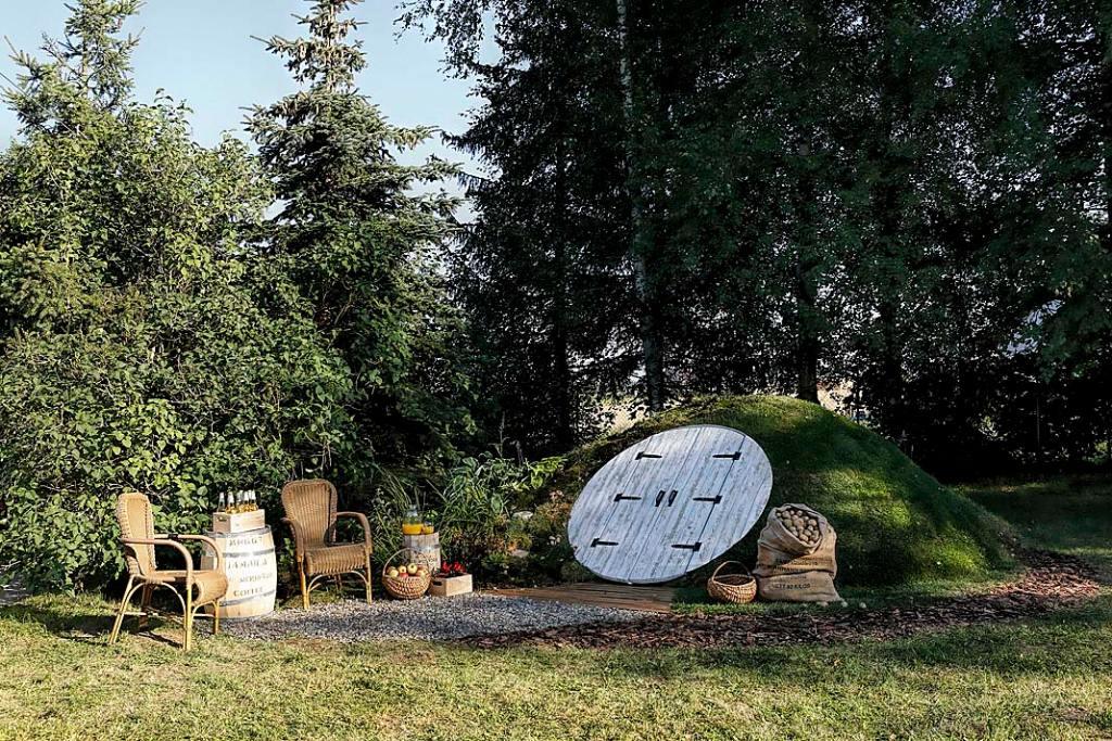 Piwniczka w ogrodzie