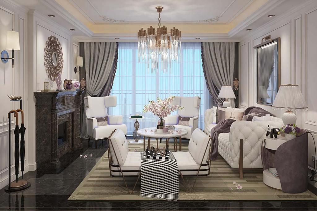 Przestrzeń zaaranżowana w stylu preppy powinna być komfortowa dla domowników. Fot. RuckZuck