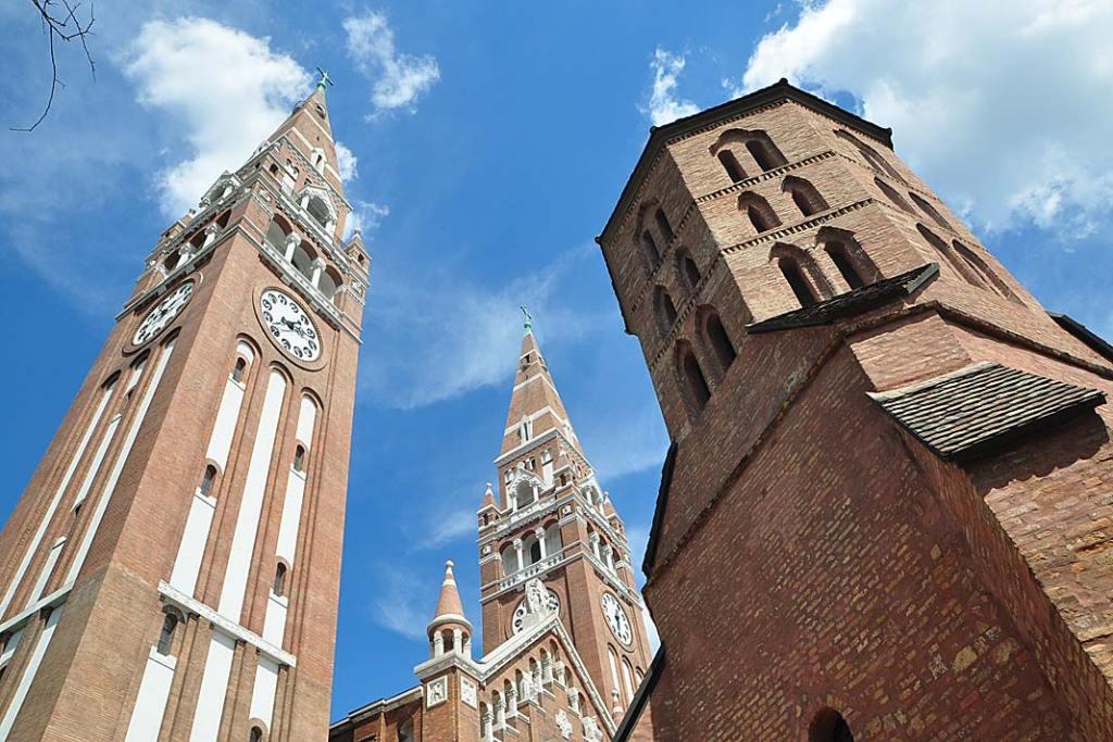 Segedyn, wieża katedry