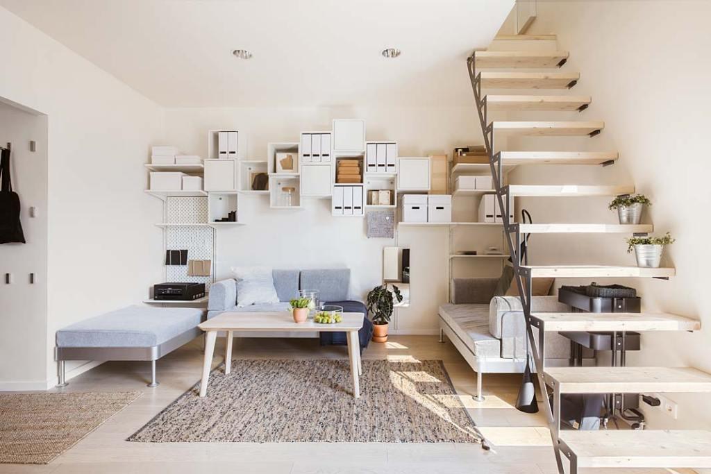 Solace House, przytulne, ergonomicznie zaprojektowane wnętrze