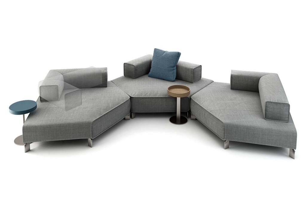 System siedzisk modułowych Tetra - propozycja marki Bonaldo