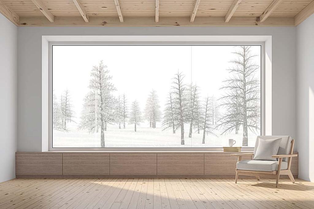 Duże okna w domu. Szyby ze szkła niskoemisyjnego ECLAZ marki Saint-Gobain Building Glass Polska