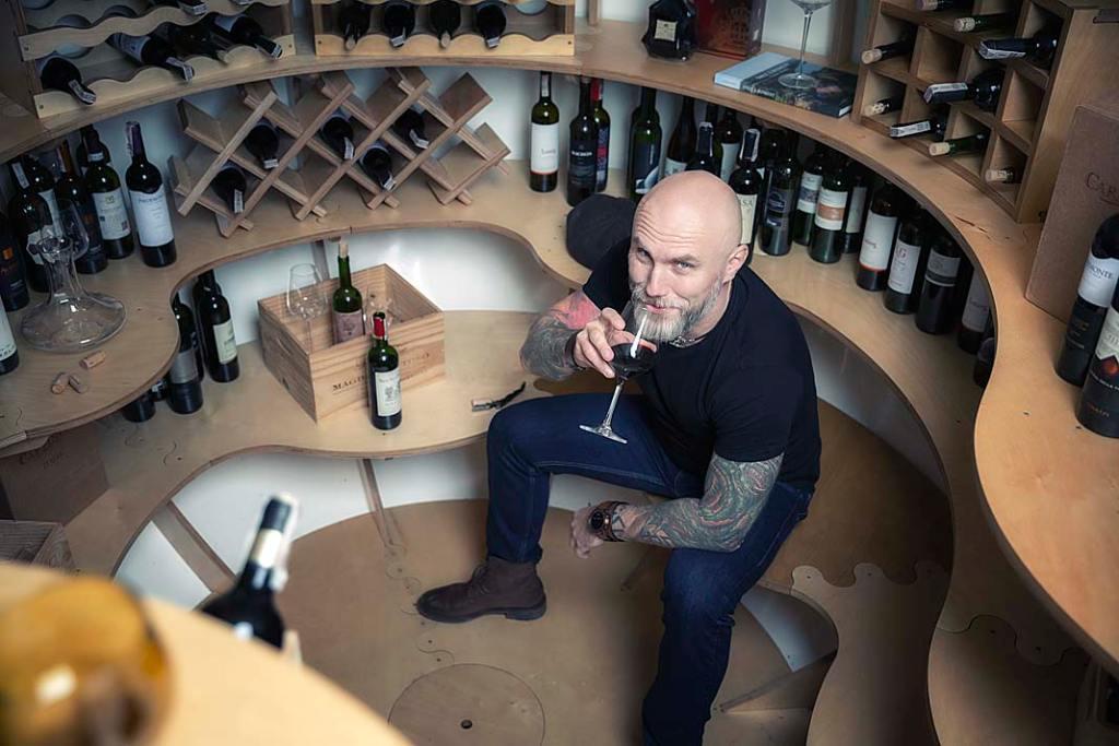 W ogrodowej piwniczce można przechowywać wina, miód pitny i inne szlachetne trunki