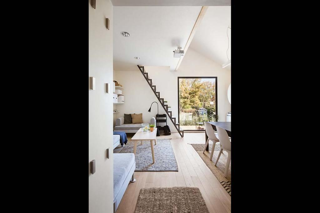 W domu zastosowano wiele energooszczędnych rozwiązań