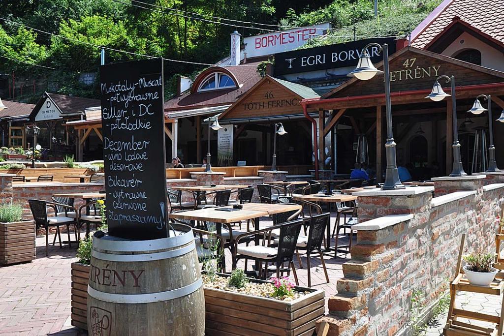Winiarnia w Dolinie Pięknej Pani w Egerze