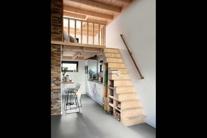 Wnętrze z podłogą Quick-Step