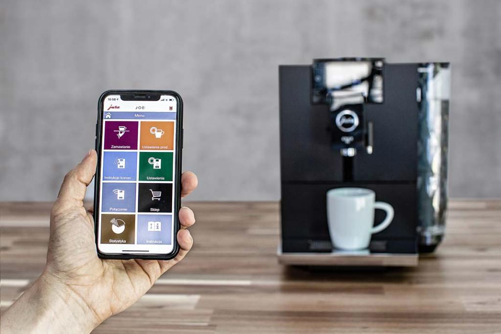 Smart technologie. Wyposażony w sztuczną inteligencję ekspres ENA8 marki Jura