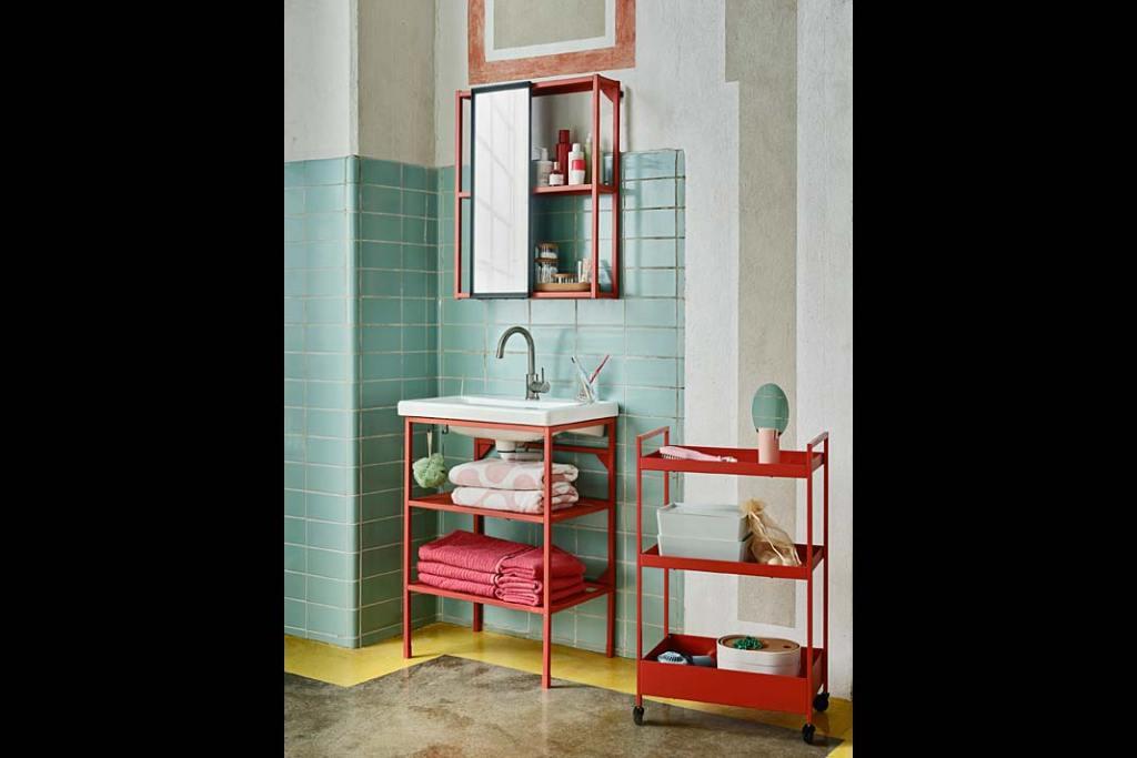 Zestaw mebli łazienkowych Enhet Tvallen od IKEA