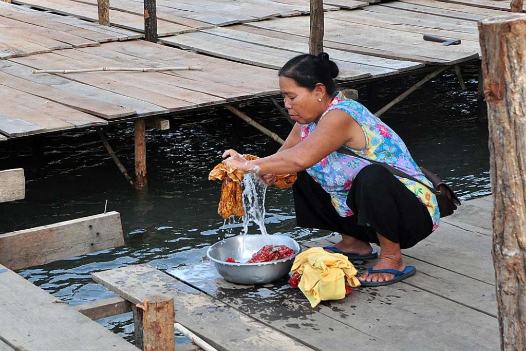 Oreczki krótkogłowe dziś nadal decydują o jakości życia u brzegów Mekongu