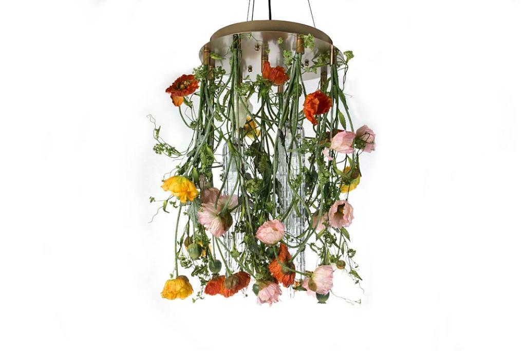 Żyrandole kwiaty: model Flower Power marki VG New Trend